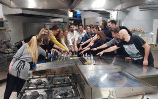 kulinarični team building