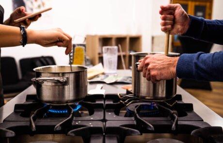 kuharska delavnica in kuharski team building
