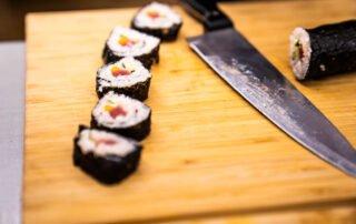 Sushi na kuharski delavnici Gastrofuzija
