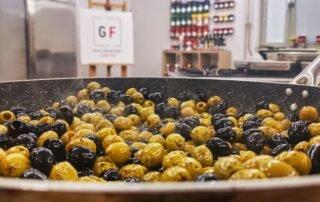 pečenje oliv za chefov box