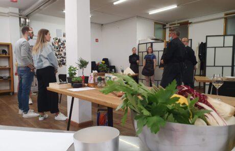 V kulinaričnem centru Gastrofuzija v Ljubljani se ponovno odvijajo kuharske delavnice vseh vrst