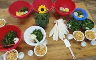 Sveže sestavine za pripravo libanonskih jedi