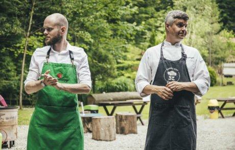 odlično izpeljan kuharski teambuilding za podjetja