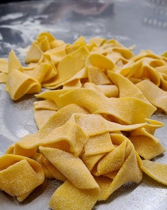 italijanska kulinarika - priprava domačih testenin