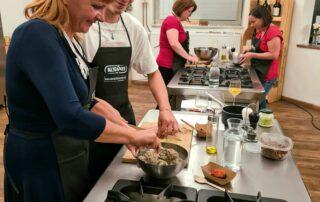 kulinarična delavnica v Ljubljani