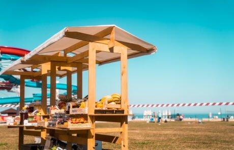 zabavni team building na plaži