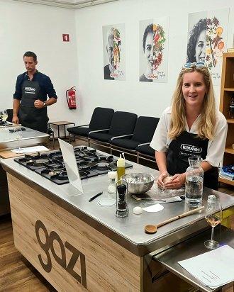 zabavna božično-novoletna pravljica je nova kulinarična delavnica v ljubljani